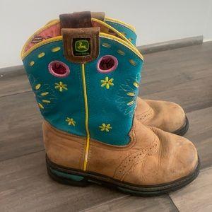 John Deere JD2157 Pull On Boot (Little Kid) Sz1.5M